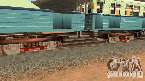 Вагон типа Е 81-703 Грузовой для GTA San Andreas вид сбоку
