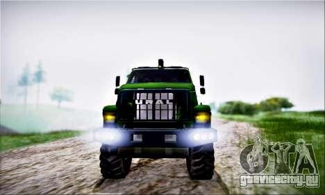 URAL NEXT Лесовоз (IVF) для GTA San Andreas вид сзади
