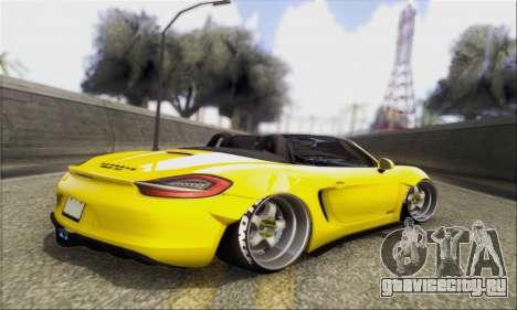 Porsche Boxter GTS L3DWork для GTA San Andreas вид слева