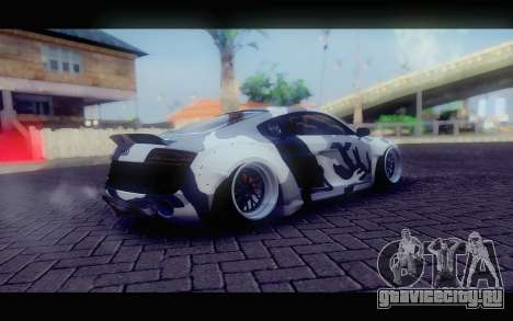 Audi R8 V10 Liberty Walk Performance для GTA San Andreas вид сзади