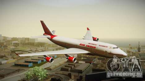 Boeing 747-400 Air India Khajuraho для GTA San Andreas