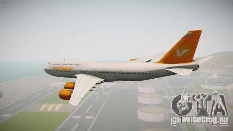 Boeing 747-8I Conviasa для GTA San Andreas вид справа