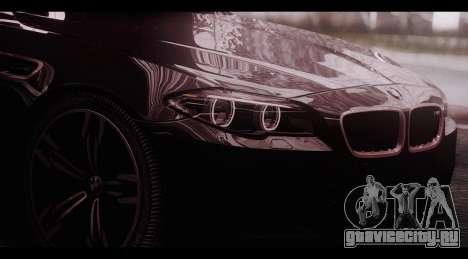 BMW M5 F10 2015 для GTA San Andreas вид слева