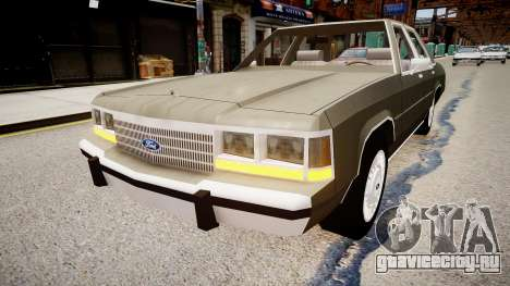 Ford LTD Crown Victoria 1989 для GTA 4