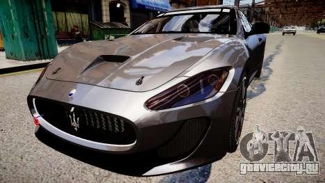 Maserati GranTurismo MC для GTA 4