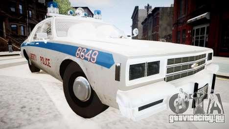 Chevrolet Impala Chicago Police для GTA 4 вид справа
