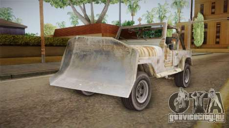 Jeep Wrangler Mad Max Style для GTA San Andreas