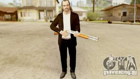 GTA 5 Trevor Prologue in Black Suit для GTA San Andreas третий скриншот