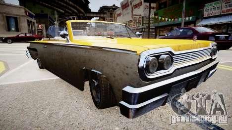 Voodoo Cabrio для GTA 4