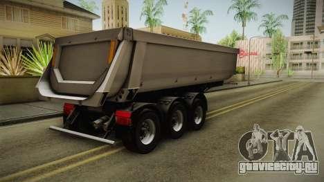 Iveco Trakker Hi-Land v3.0 Trailer для GTA San Andreas вид сзади слева