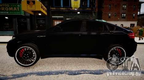 BMW X6 Hamann v2.0 для GTA 4 вид слева