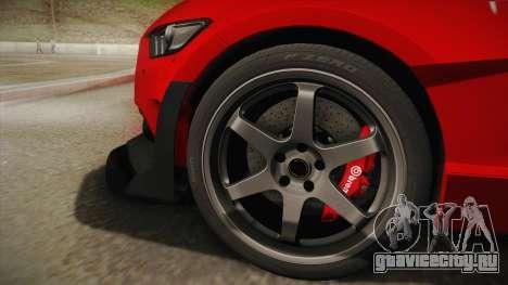 Ford Mustang GT Premium HPE750 Boss 2015 для GTA San Andreas вид сзади слева