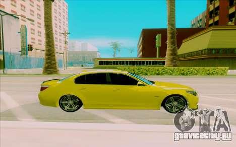 BMW M5 для GTA San Andreas вид слева