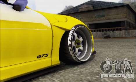 Porsche Boxter GTS L3DWork для GTA San Andreas вид сзади слева