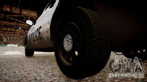 Ford Crown Victoria LCPD Police для GTA 4 вид сзади