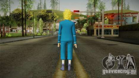 Minato Everyday Clothes для GTA San Andreas третий скриншот