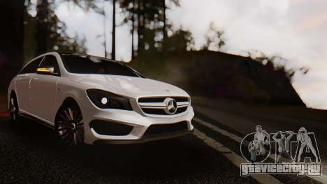 Mercedes-Benz CLA45 AMG Shooting Brakes Boss для GTA San Andreas