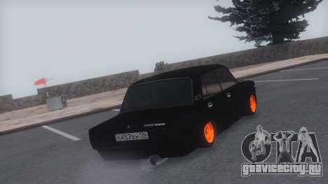 VAZ 2107 TwOne v0.1 для GTA San Andreas вид слева