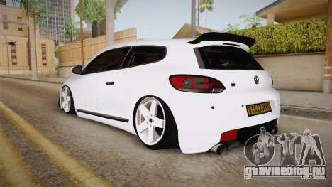 Volkswagen Scirocco Stance Works для GTA San Andreas вид слева