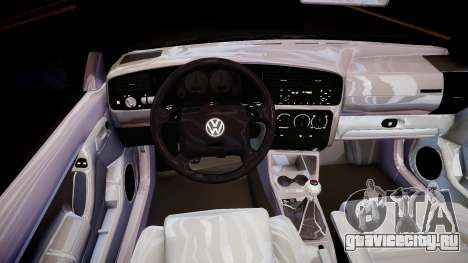 Volkswagen Golf 3 GTI для GTA 4 вид изнутри