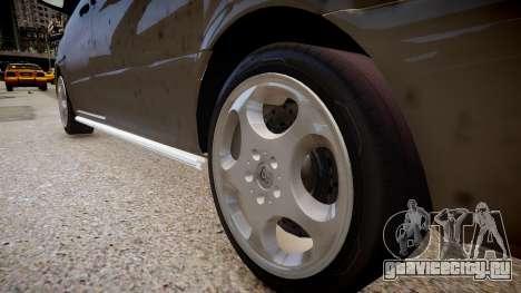 Mercedes-Benz Vito Sport-X для GTA 4 вид сзади
