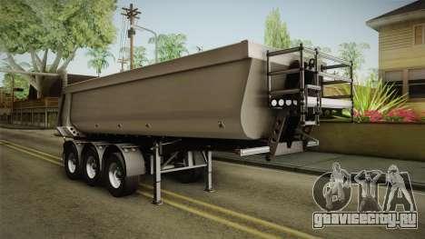 Iveco Trakker Hi-Land v3.0 Trailer для GTA San Andreas вид справа