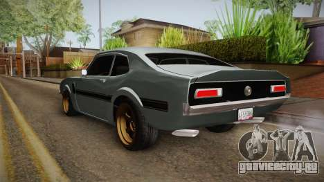Ford Maverick 1977 для GTA San Andreas вид сзади слева