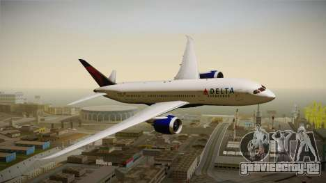 Boeing 787-8 Delta Airlines для GTA San Andreas