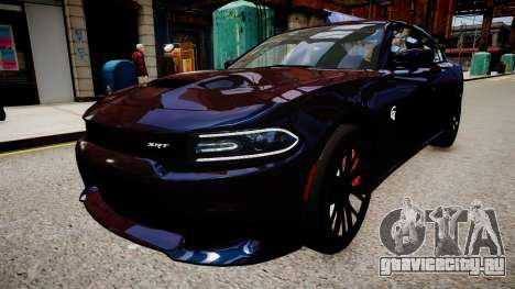 Dodge Charger SRT Hellcat 2015 для GTA 4
