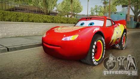 Cars 3 - McQueen для GTA San Andreas