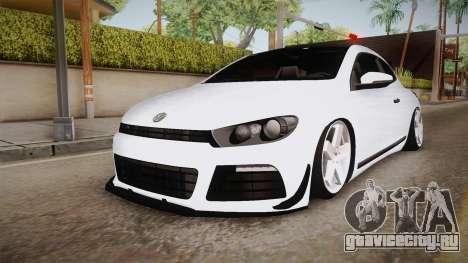 Volkswagen Scirocco Stance Works для GTA San Andreas