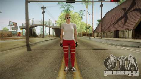 GTA 5 Online Skin Female для GTA San Andreas второй скриншот