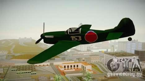 Japan World War 2 Rustler для GTA San Andreas вид справа