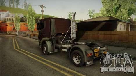 Iveco Trakker Hi-Land 4x2 Cab Low v3.0 для GTA San Andreas вид слева