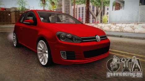 Volkswagen Golf 1.6 для GTA San Andreas