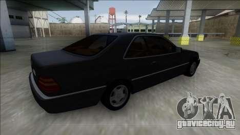 1993 Mercedes-Benz 600SEC для GTA San Andreas вид слева