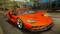 Lamborghini Centenario LP770-4 2017 Painted Body для GTA San Andreas