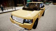 Land Rover Supercharged 2012 для GTA 4