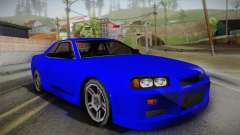 Nissan Skyline Lowpoly для GTA San Andreas