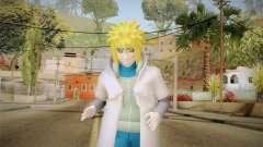Minato Edo Tensei Hokage Outfit (Sage Mode) для GTA San Andreas