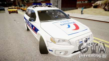 Volvo Police National для GTA 4
