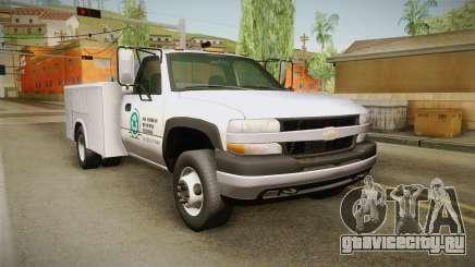 Chevrolet Silverado 2500HD Utility 2001 IVF для GTA San Andreas