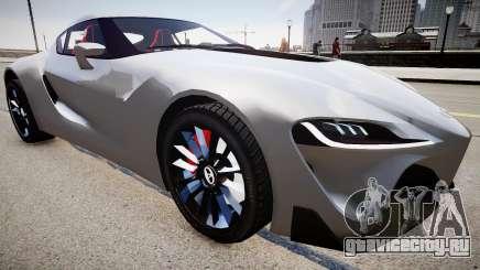 Toyota FTO-1 Concept 2014 для GTA 4