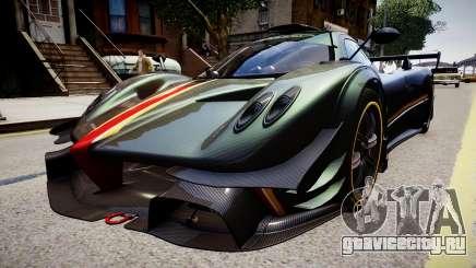 Pagani Zonda R Evolucion Final для GTA 4
