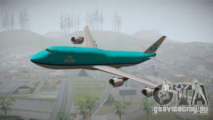 Boeing 747-8i KLM для GTA San Andreas