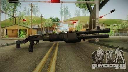 SPAS-12 Long Barrel and Magazine для GTA San Andreas
