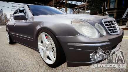 Mercedes-Benz AMG E320 W211 для GTA 4