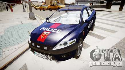 Ford Mondeo Police Nationale для GTA 4