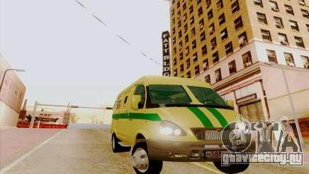 ГАЗ 3221 для GTA San Andreas