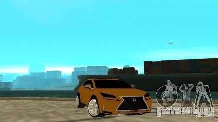 Lexus Nx 200 F-sport для GTA San Andreas